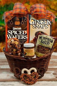 Spiced Wafer Snack Basket