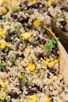 This Vegetarian Quinoa Burrito Bowl is PERFECT for meal prep and ready in under 20 minutes!