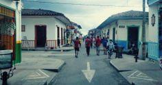 Una calle particular.