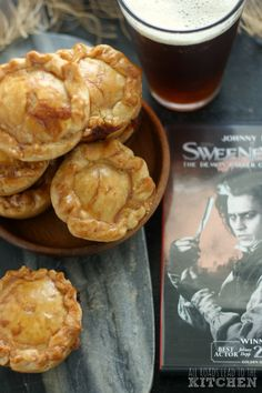 These savory little meat pies are packed with flavor and texture from pork prepared 5 ways. Inspired by Sweeney Todd (wouldn't Mrs. Lovett be proud).