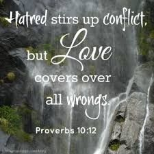 Image result for love covers a multitude of sins