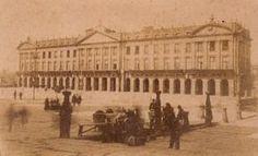 Memorias de Compostela: Pazo de Raxoi (1880)