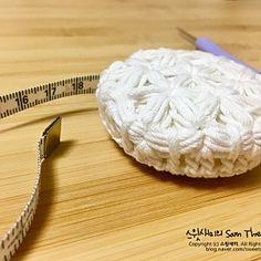 [코바늘] 줄자커버 (feat. <strong>자스민</strong>스티치) Crochet Case, Diy And Crafts, Crochet Box