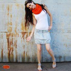 c001c683c84 riflová sukně balónová na knoflíky bez šoupání (velikost 38 - výroba)    Zboží prodejce BOGY - Janečková Petra