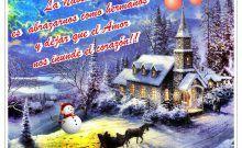 Tarjetas navideñas para compartir con nuestros seres queridos