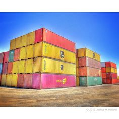 Shipping Containers in Kansas City by joshholland via Flickr