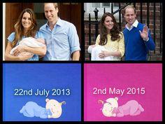 Prince George & Princess Charlotte of Cambridge