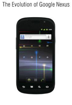 The Complete Evolution of Google's Nexus Phone in 1 GIF