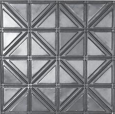"Decorative Ceiling Tiles,# 215, Pattern Size: 6"". (Option for border B)"
