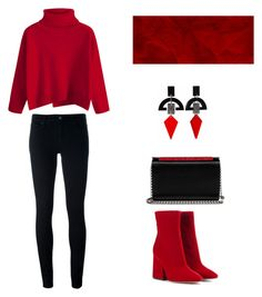 BER by nao-kim on Polyvore featuring мода, Levi's, Maison Margiela, Christian Louboutin and Toolally