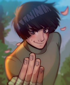 🌿💚💛💚 Rewatched some naruto episodes this week and had to draw my fav boy. Rock lee was a character I really idolized in high… Naruhina, Naruto Uzumaki, Naruto Boys, Naruto Cute, Gaara, Anime Naruto, Anime Guys, Boruto, Sasuke