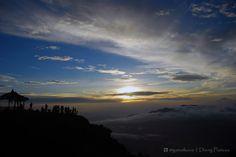Golden Sunrise Sikunir, Dieng Plateau. Central Java, Indonesia :)