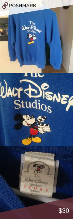25' length 21' pit vintage disney adult sweater 25' length 21' pit vintage disney adult medium sweatshirt from Walt Disney studios Disney store ! What a gem and collectors piece Mickey Mouse good vintage condition. disney Sweaters Crewneck