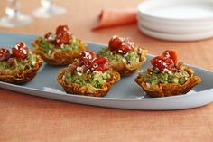 California Avocado Guacamole Tarts