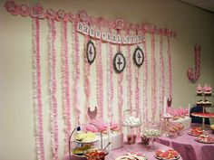 Ballerina Baby Shower Party Ideas | Photo 1 of 26 | Catch My Party