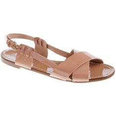 Tova patent sandals (91 CAD) ❤ liked on Polyvore featuring shoes, sandals, slingback shoes, sling back sandals, j.crew sandals, buckle sandals and patent shoes