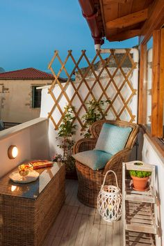 Enjoy #romantic evenings with views of the picturesque alleys of Chania old town from the #traditional 2-bedroom Townhouse Emi! #crete #chania #townhouse #traditional #exterior #romance #travel #holidays #vacation #nights #TheHotelgr