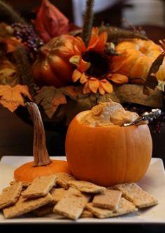 Pumpkin spread presentation fall party