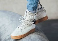 Now Available: Nike SF-AF1 High Light Bone