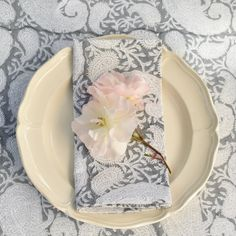 Timeless Classic, Slate, Serving Bowls, Napkins, Fabric Wallpaper, Dining, Tableware, Paisley, Interiors