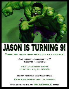 33b4e4ac9a31e06c918875bc432f4aa5 hulk birthday my birthday hulk invitation, hulk birthday, incredible hulk birthday invites,Hulk Birthday Invitations