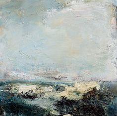 Seaspray Oil On Canvas 50cm x 50cm by Dion Salvador Lloyd www.dionsalvador.co.uk