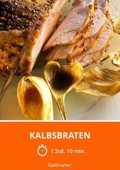 Kalbsbraten - smarter - Zeit: 1 Std. 10 Min. | eatsmarter.de