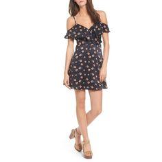 Women s J.o.a. Cold Shoulder Minidress (115 CAD) ❤ liked on Polyvore  featuring dresses, 8c551d4da9