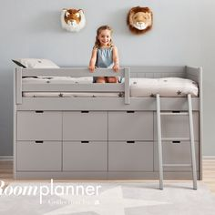 Fabulous children's Storage Bed by Roomplanner of Spain