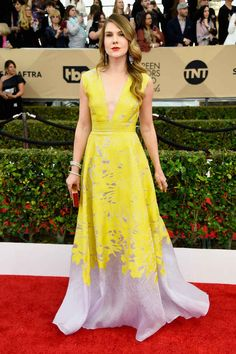 Fashion On The 2016 SAG Awards Red Carpet