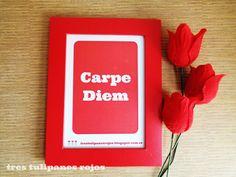 Tres Tulipanes Rojos: Frase de la semana