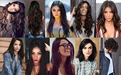 Inspirações de cabelos castanho escuro