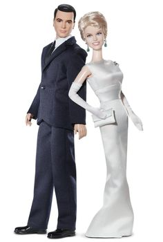 Pillow Talk with Rock Hudson and Doris Day is one of my all time favorite movies...and wouldn't you know it they barbified them...I want. ^^