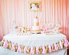 A first birthday is always a memorable one. Even if you're on a budget you can still have beautiful decorations! I love all of the diy stuff in this. #diy #memorable #firstbirthday #budget