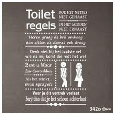 Mooi voor op de toilet