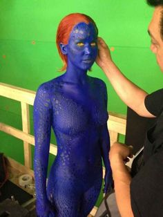 When she was blue: | 51 Times In 2013 Jennifer Lawrence Proved She Was Master Of The Universe