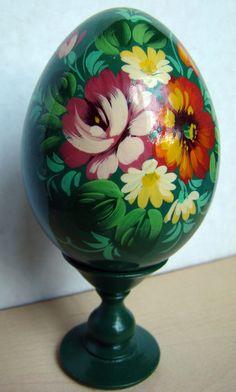 russian wooden decorative egg | by katunchik