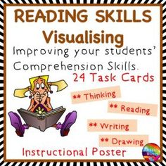 Grade / Year Level :: Primary Education :: Year 2 :: Reading Activity Comprehension Skills Visualisation Poster and Task Cards