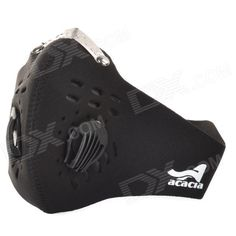 Acaica Bicycle Cycling Neoprene Half-Face Nose / Mouth Protection Mask - Black (Size XL) Price: $9.00