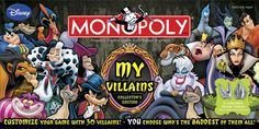 My Disney Villains Collector's Edition - Monopoly Wiki