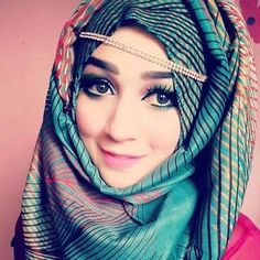 Hijabi Girl, Girl Hijab, Hijab Outfit, Wedding Hijab Styles, Hijab Style Tutorial, Hijab Dpz, Bridal Hijab, Punjabi Girls, Muslim Beauty