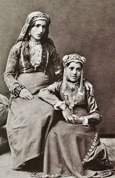 Armenian women.  From Akhaltsikhe (southwestern Georgia), late 19th century. Photo By D. A. Nikitin.