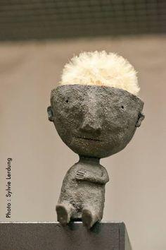Christian Voltz  - trésors minuscules - Grosse exposition des différentes facettes de son travail : illustrations, sculptures, gravures, céramiques...