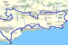 The Overberg and Attaquaskloof Adventure Motorcycling Route, Maps, GPS data…
