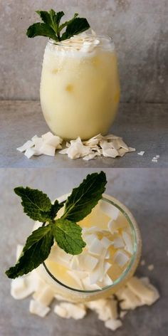 Pineapple and Coconut Margarita: If you like Piña Coladas, you'll love this Pineapple Coconut Margarita drink. It's an easy recipe to follow. Just swap rum for tequila.