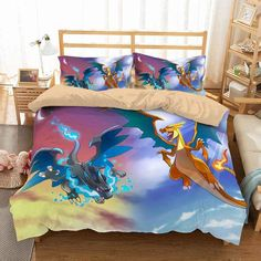 Customize Pokemon Go Bedding Set Duvet Cover Set Bedroom Set Bedlinen Microfiber,Soft and Comfortable. Dyeing,Never Lose Color. Newest Design,Pokemon Go,Fashion and Personality. Bed Covers, Duvet Cover Sets, Pillow Covers, Custom Curtains, Custom Bedding, Elegant Curtains, Luxury Bedding Sets, Blanket Cover, Bedroom Sets