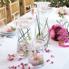 """PartyLite Wedding Ideas with the Symmetry collection. Independent PartyLite Consultant """"Pin"""" http://www.partylite.biz/sites/carahausman/productcatalog?page=decoratingIdeas=4"""