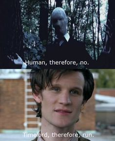 Slenderman Vs The Doctor but the doctor always wins..