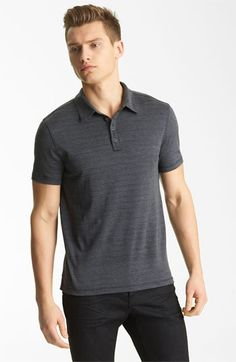 Best polos in the world. By John Varvatos. Available at Nordstrom in Green Hills