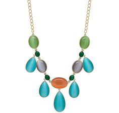 Roberto by RFM Pastel Coloured Statement Necklace